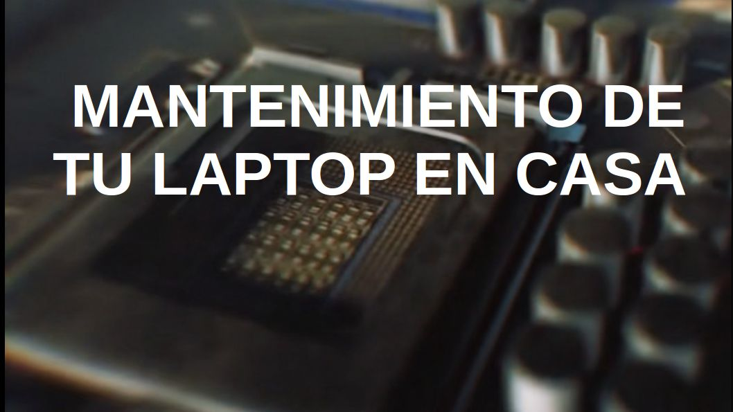 Mantenimiento Laptop Lenovo
